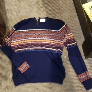 Pin and needles sweater